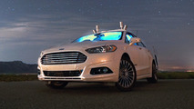 Ford Fusion Hybrid autonomous research vehicle
