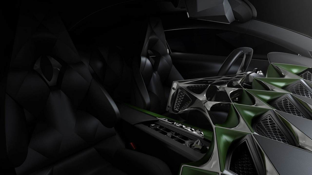DS ETense electric concept car at the Geneva Motor Show
