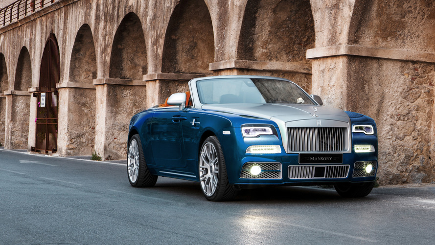 Rolls-Royce Dawn enhanced with 740hp by Mansory