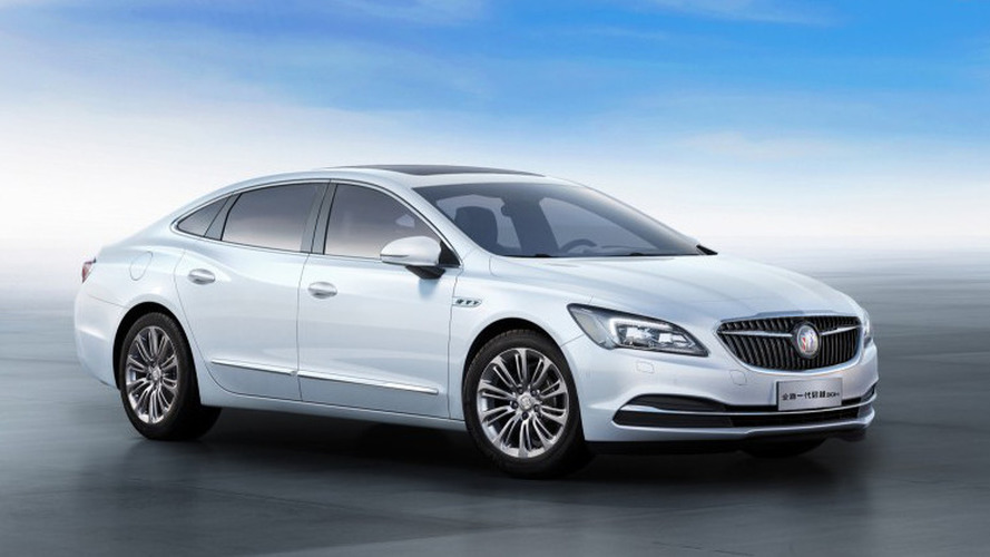 Buick LaCrosse Hybrid unveiled, gets 50 mpg