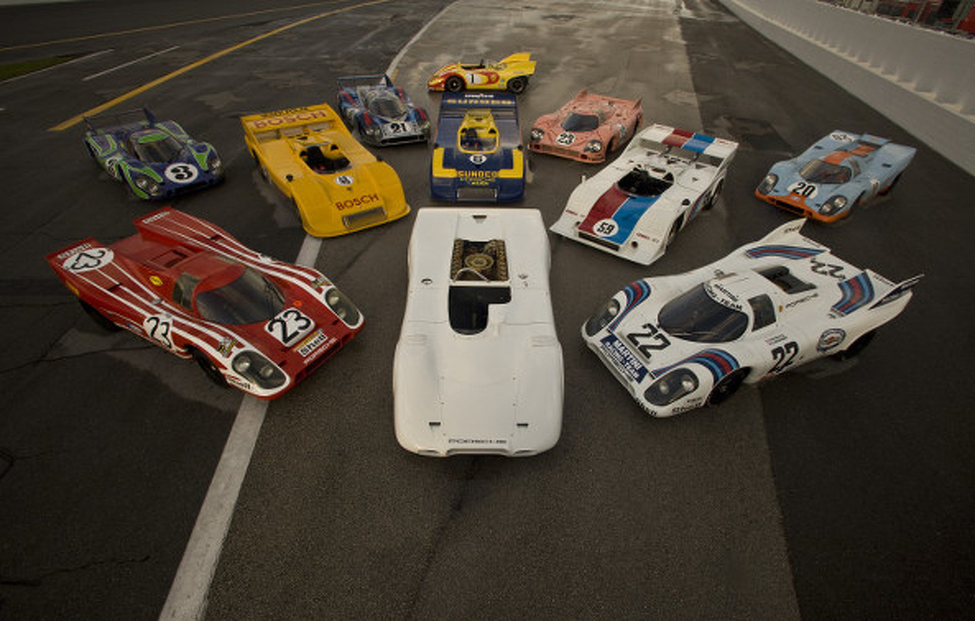 The Monster 16-Cylinder Porsche 917 That Never Raced