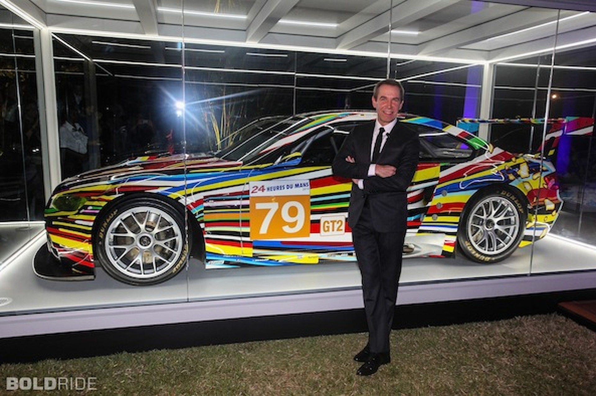 Jeff Koons BMW M3 Art Car Makes Bittersweet Debut in Miami