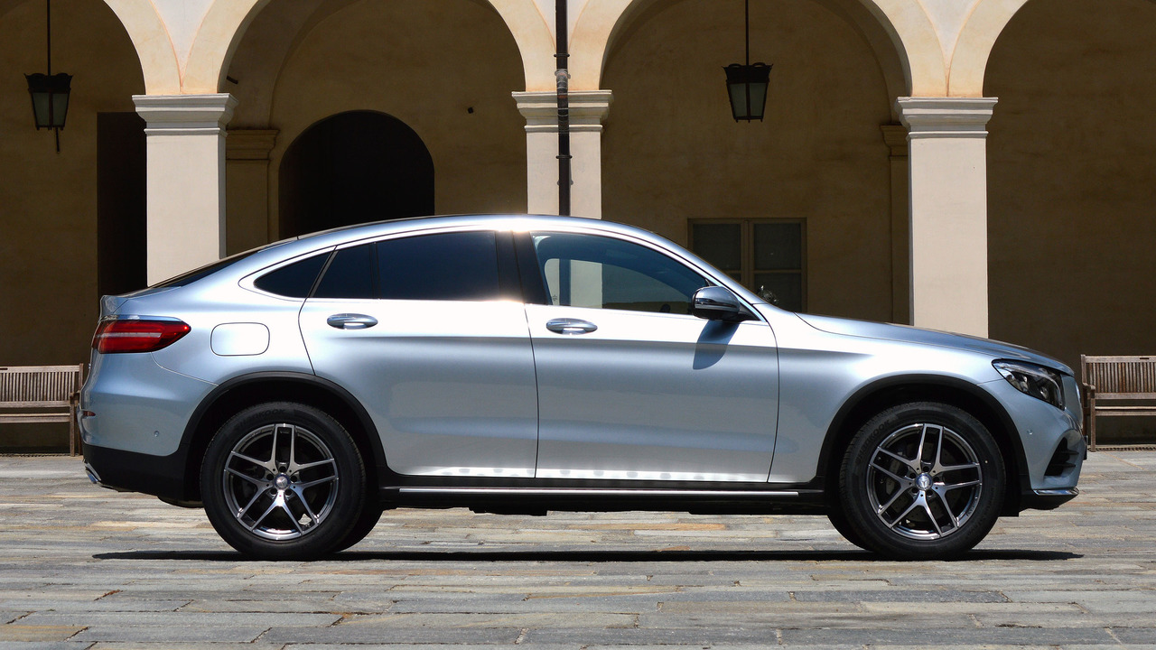 First drive 2017 mercedes benz glc300 coupe for Mercedes benz glc coupe 2017