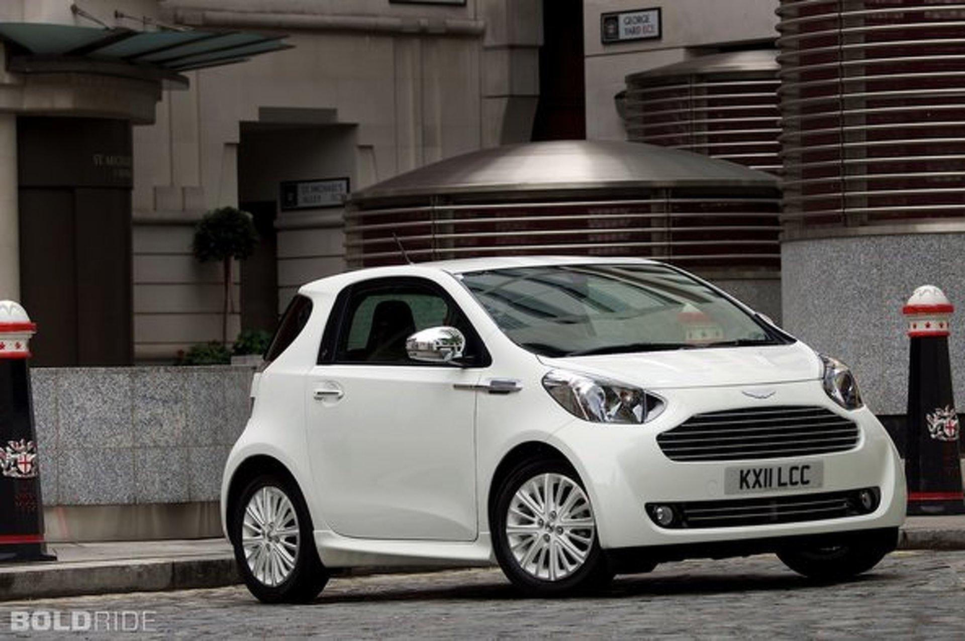 Aston Martin Could Shove A V12 Into Cygnet City Car