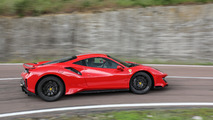 2018 Ferrari 488 Pista at Fiorano proving grounds