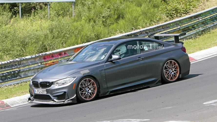 BMW M4 GTS Spied Testing With Extreme Aero Kit [UPDATE]