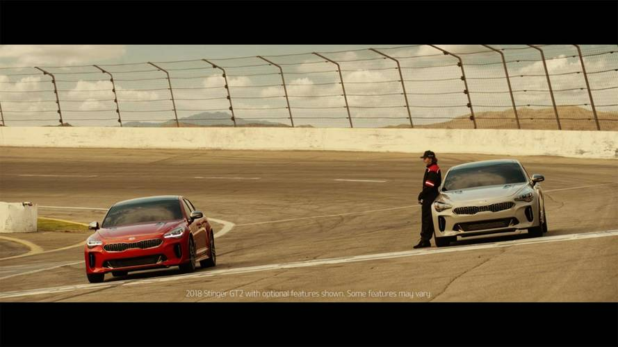 Racing Legend Emerson Fittipaldi Teases Kia Stinger Super Bowl Ad
