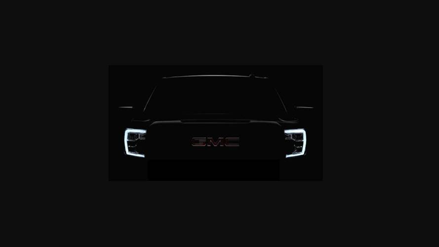 2019 GMC Sierra Shows Up In First Teaser Image