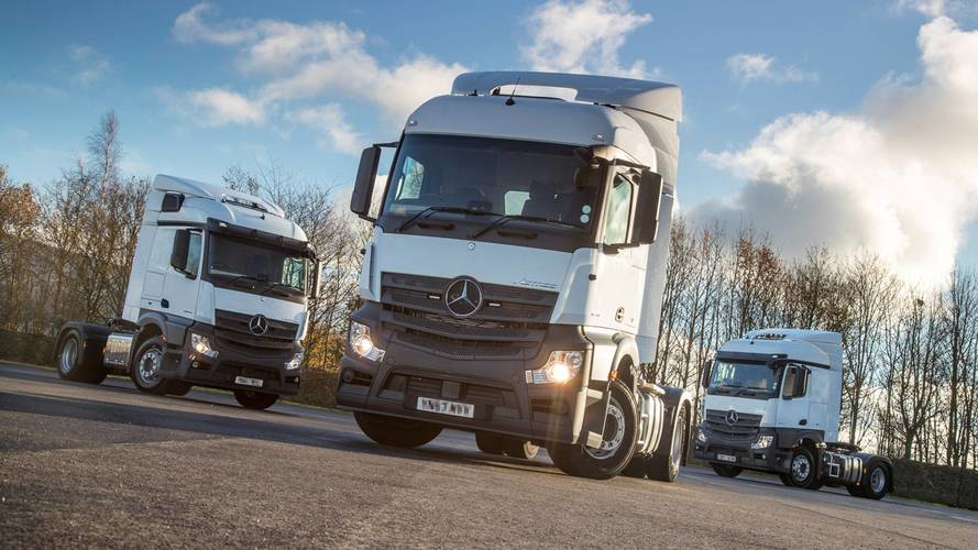 Police get three new 'Supercab' HGVs to catch dangerous drivers
