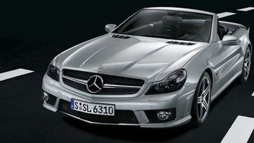 Mercedes SL 63 AMG - First Detail and Images