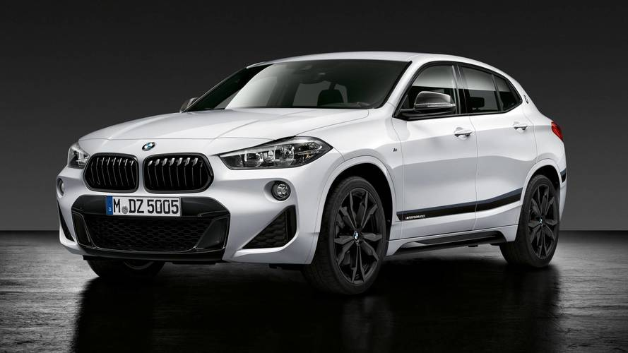 BMW X2 with M Performance parts