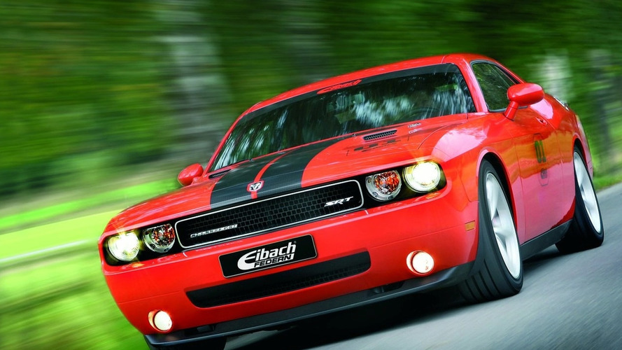 Vin Diesel Drives Eibach Challenger to Fast & Furious Film Premiere