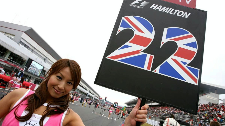 Hamilton excited to race Suzuka for first time