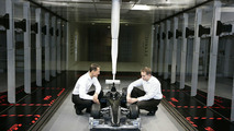 Michael Schumacher & John Owen in Wind Tunnel