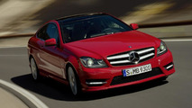 2012 Mercedes C-Class Coupe leaked photo, 1600, 10.02.2011