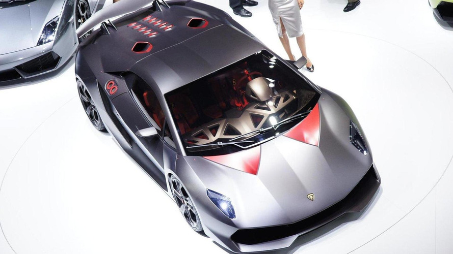 Lamborghini Sesto Elemento and Urus en route to Pebble Beach