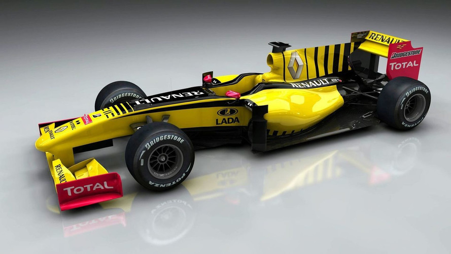 Renault shows Lada branding on 2010 car