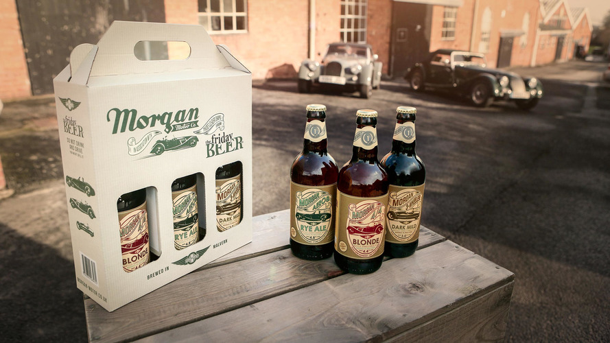 Morgan now selling beer as old-fashioned as its cars