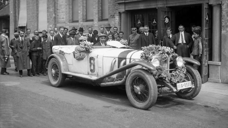 Mercedes Model S 'White Elephant' Celebrates Its 90th Anniversary