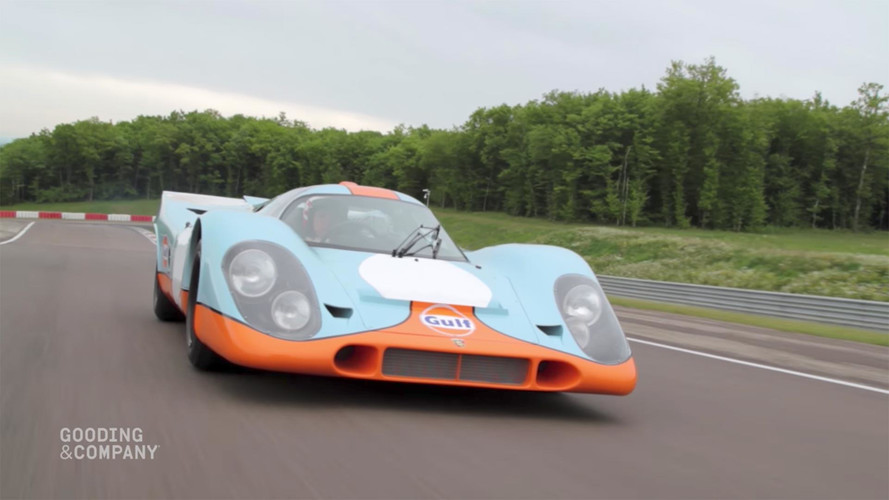 Porsche 917K With 'Le Mans' Film Credit Sells For $14M