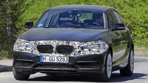 2018 BMW 1 Series facelift spy photos