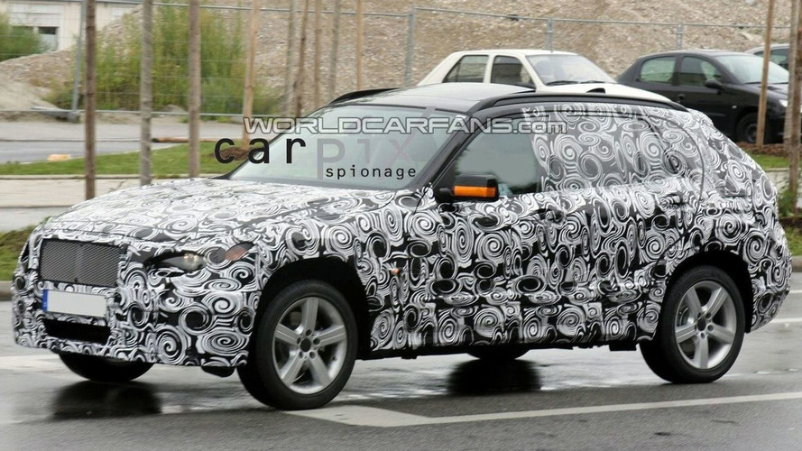 BMW X3 Prototype Spotted Once Again