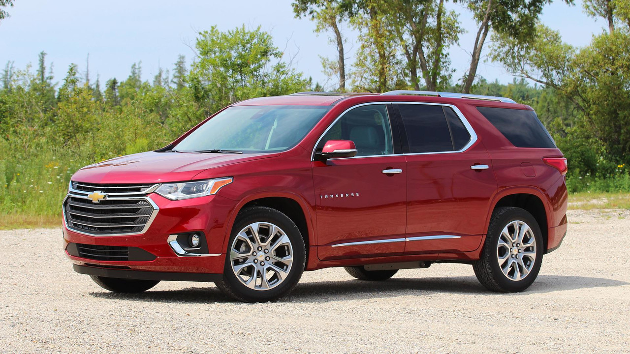 2018 chevy traverse first drive go big and go home. Black Bedroom Furniture Sets. Home Design Ideas