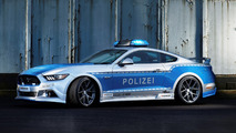 Polizei Ford Mustang GT tuner