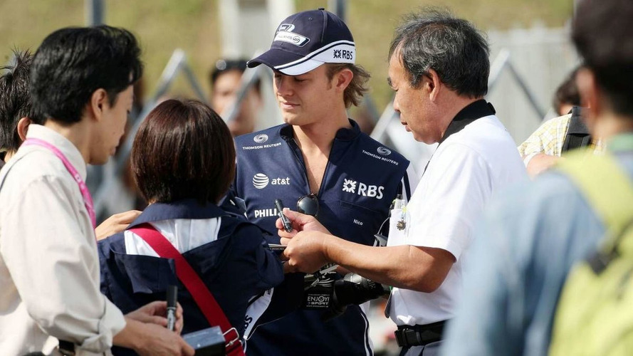 A scare for Rosberg at Suzuka