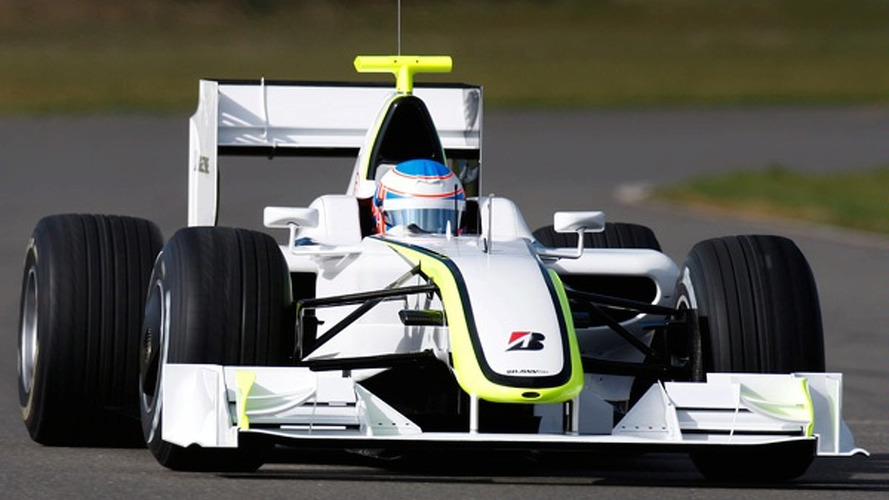 Brawn GP Begins Pre-Season Testing with a Bang