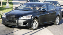 Kia VG spy photo