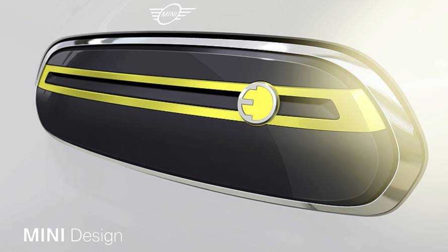 Mini reveals sketch glimpse of upcoming electric model