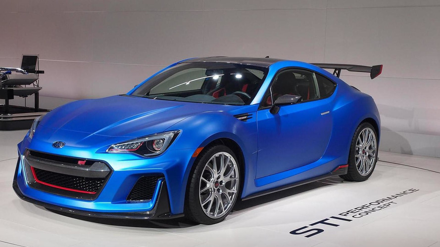 Subaru STI Performance Concept fully revealed in New York