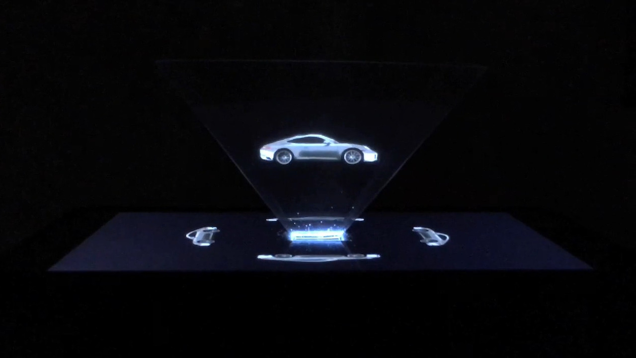 Porsche debuts hologram ad for new 911