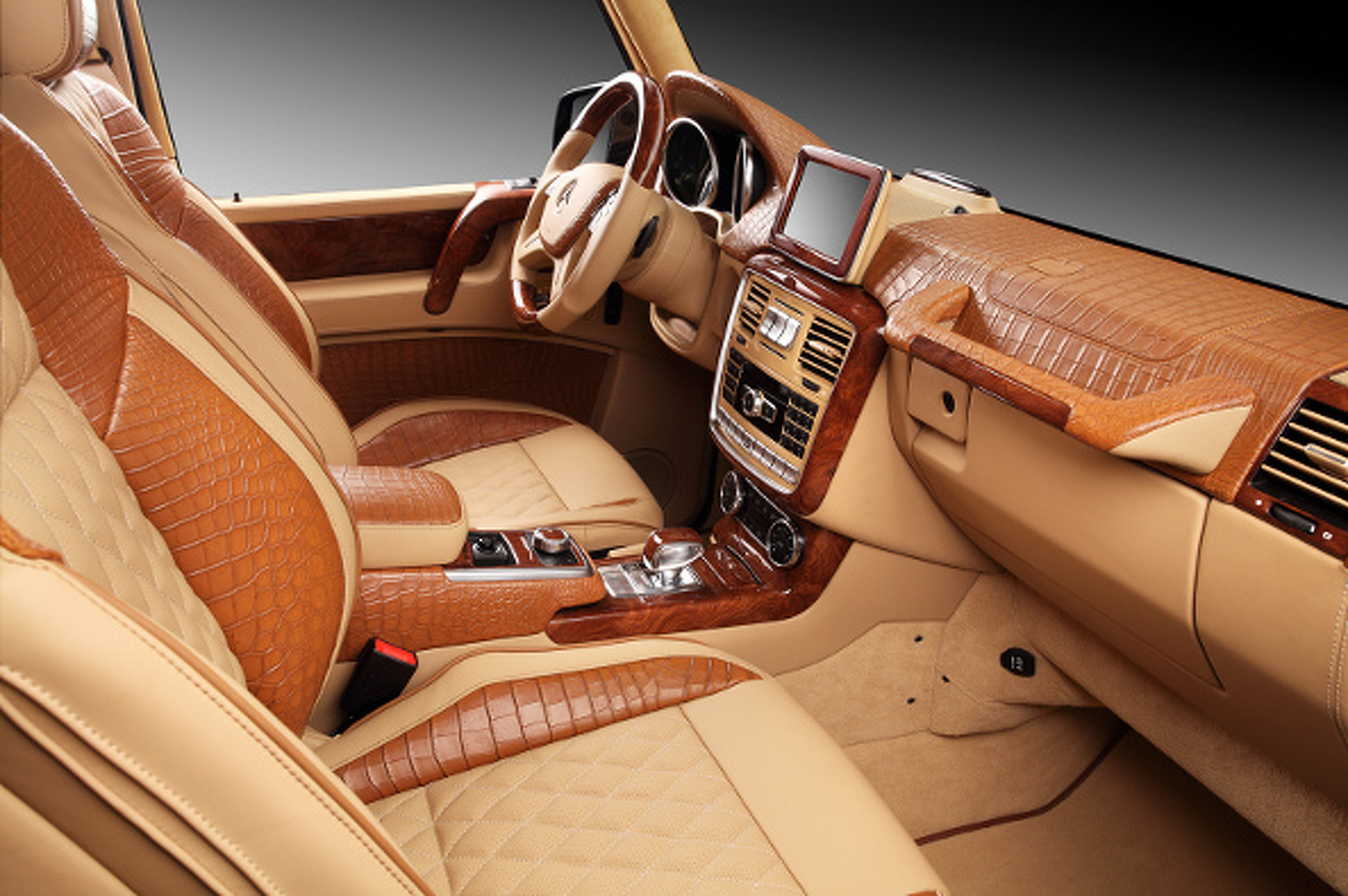Crocodile-Interior G65 AMG Is Fit For Kanye, Chris Brown