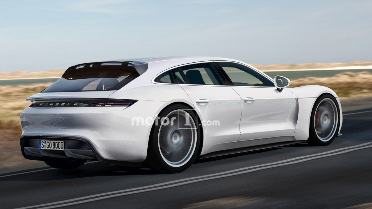 Porsche Panamera Shooting Brake rendering