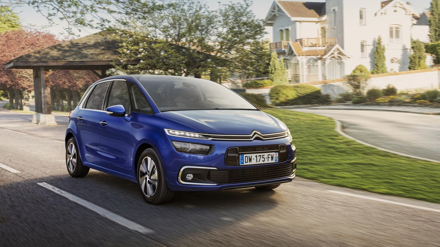 Citroen C4 Picasso, Grand C4 Picasso facelift brings more tech
