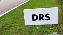 DRS zone marker board
