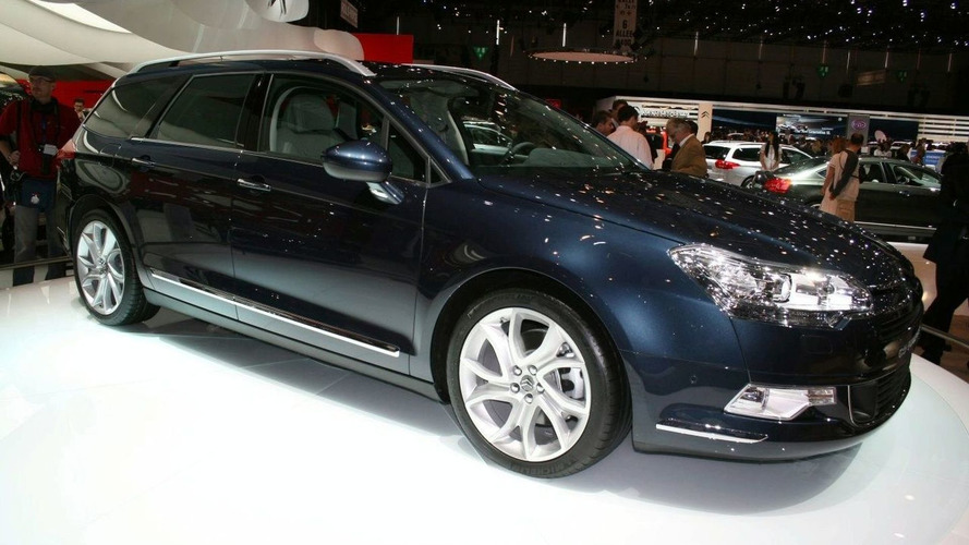 REVEALED: Citroen C5 Tourer