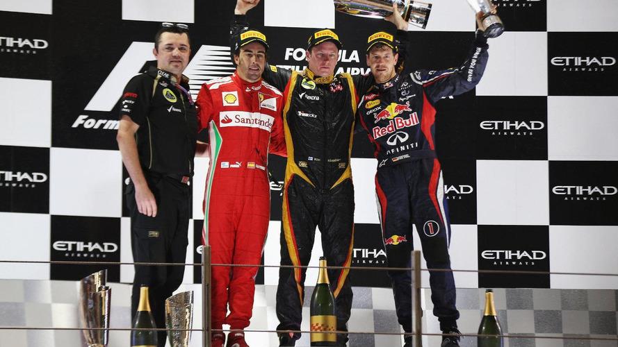 2012 Abu Dhabi Grand Prix - RESULTS