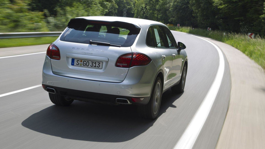 Porsche Cayenne S Diesel in development - report