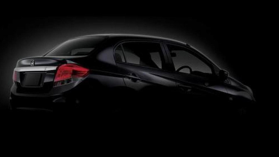 Honda Brio sedan teased [video]