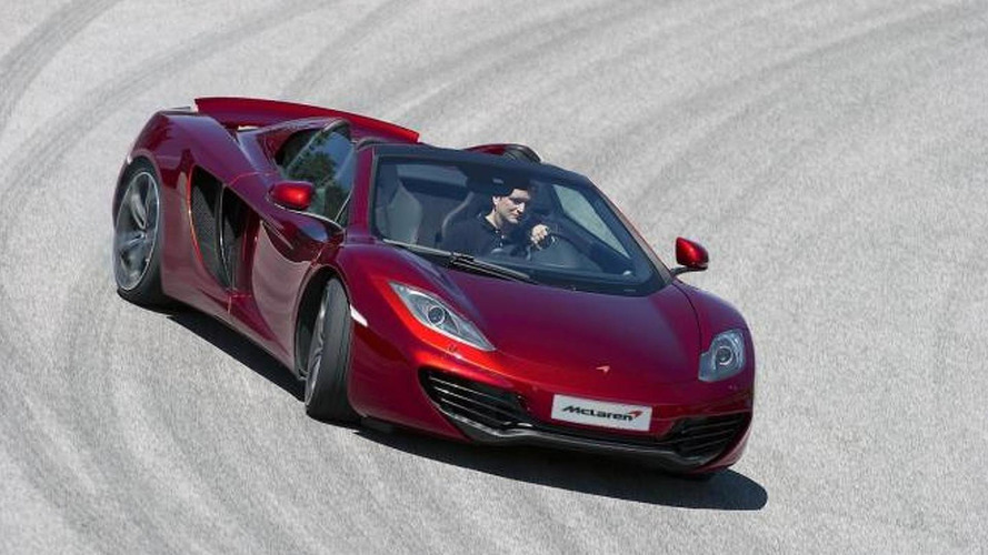 McLaren MP4-12C Spider pricing to start at $268,250 in US