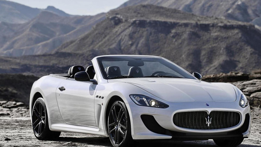 OFFICIAL: Maserati GranCabrio MC revealed