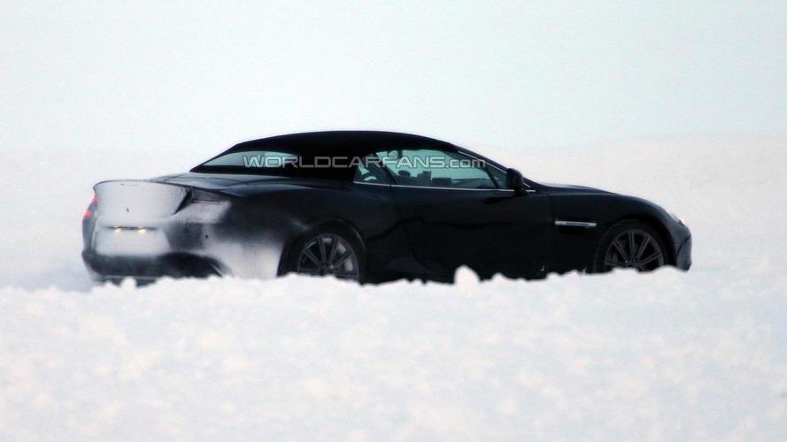 Aston Martin Vanquish Volante headed to Geneva - report