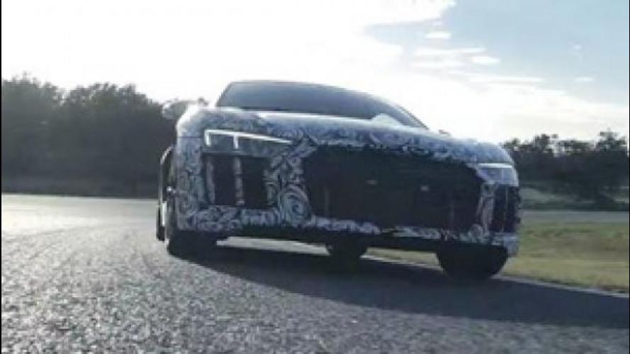 La nuova Audi R8 si scatena in pista [VIDEO]