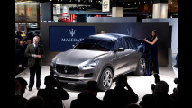 Maserati Kubang al Salone di Detroit 2012