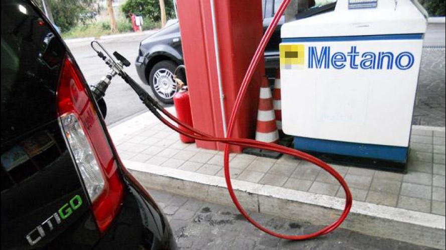 Auto a metano, +29% nel 2013