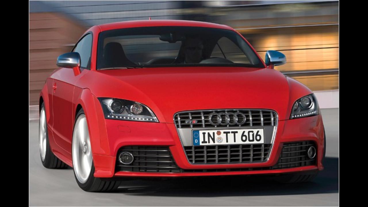 Audi TTS Coupé S tronic