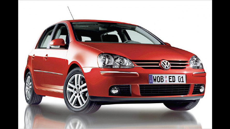 VW Golf und Golf Plus: Das Sondermodell ,Edition